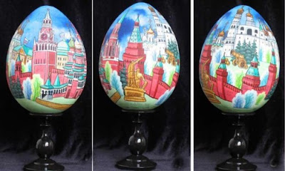 painting on eggshell