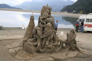 sand castle is not only stick to castle anymore
