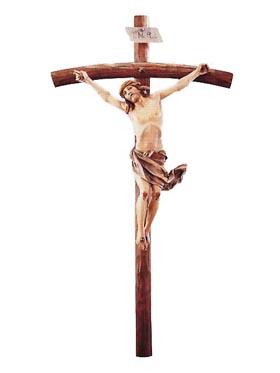 Usa el crucifijo . Da testimonio de Cristo Vivo .