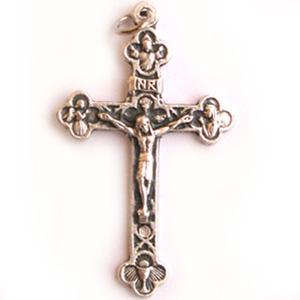 Usa el crucifijo. Es signo de Gloria y te protegera de todo peligro.