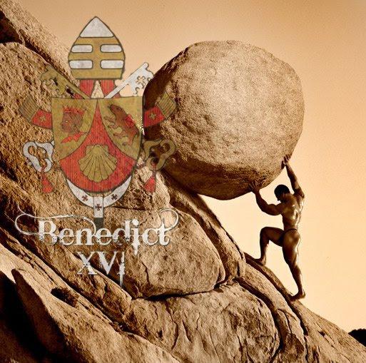 Su Santidad Benedicto XVI estamos contigo