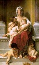 Madre Santisima cuida a todos los niños del mundo.