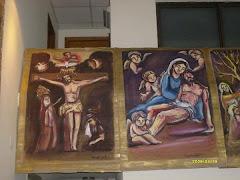 12.Jesús muere en la cruz.