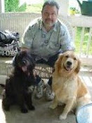 "Dad and the ""Furkids"""
