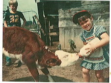Me and October the Calf