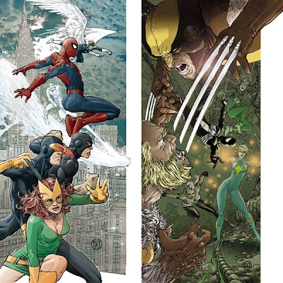 X-Men / Spider-Man by Mario Alberti