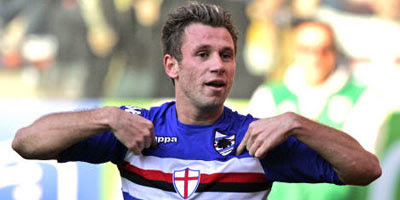 Antonio Cassano, stella dell'Atletico Betlemme