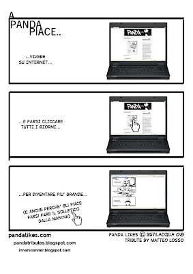 Fumetti: Panda likes tribute by Matteo Losso