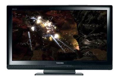 Hi-tech: Toshiba Regza LCD