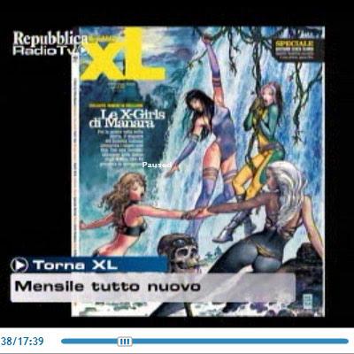 X-Girls by Milo Manara