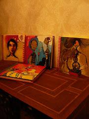 Ponte Tizza!!!!, nos acompana con sus unicos cuadernos pintados a mano...
