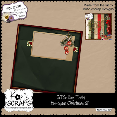 http://koriscraps.blogspot.com/2009/11/homespun-christmas-blog-train.html