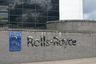 Rolls-Royce building in Derby