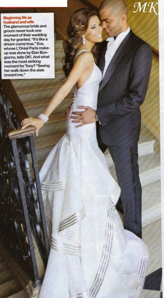 Eva Longoria Wedding Iconic Wedding Fashion Pinterest