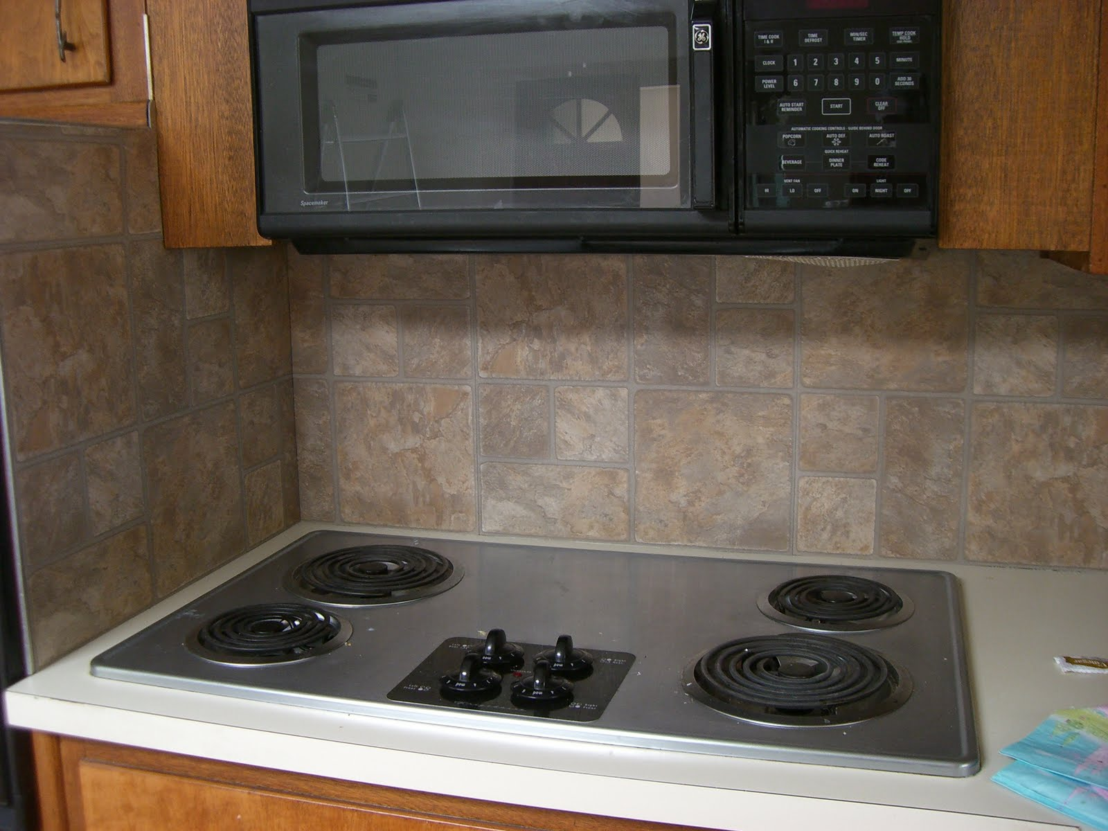 Kitchen Backsplash For Renters Glass Tile Backsplash In Rental Fourgenerationsoneroof Removable