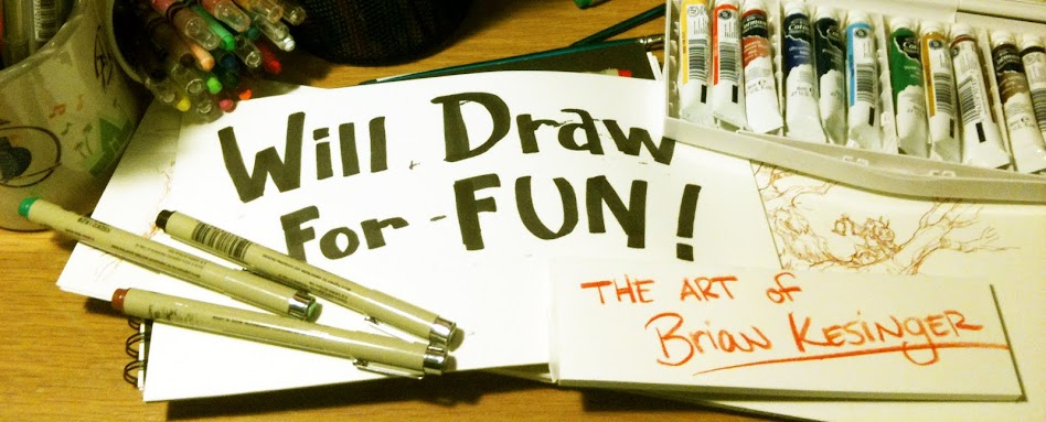will draw for fun
