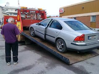 säljes i befintligt skick bil
