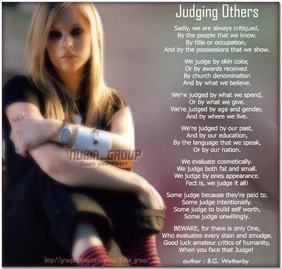 quotes on judging. Quotes On Judging. quotes