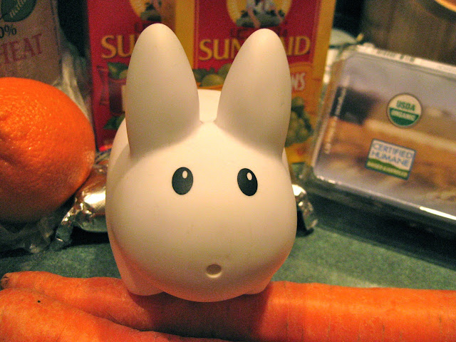 labbit picks the best carrots