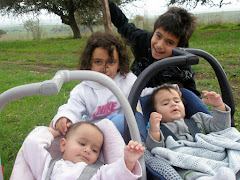 Noam, Adam, Yonatan and Danielle - December 2009