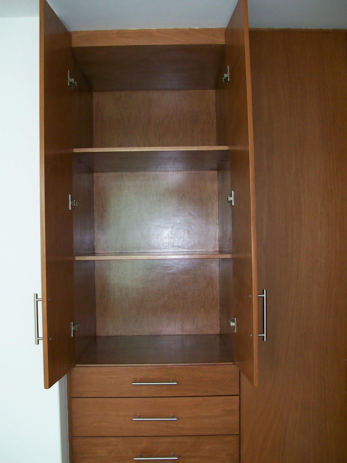 Closet vestidor for Closet para ninos madera