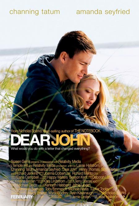 ... film teasers that are relevant to my work... for exapmle DEAR JOHN.