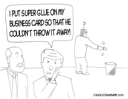 The running printer chuck comic business cards that stick comic business cards that stick colourmoves