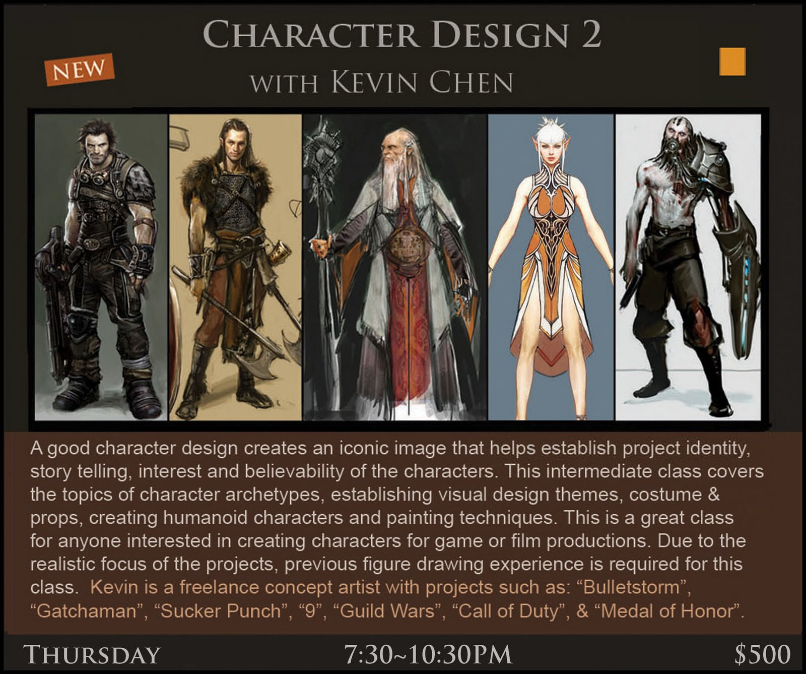 The Art Of Character Design Volume 2 With David Colman : Concept design academy may