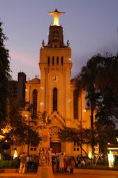 Igreja Matriz São Sebastião-Enfeites de Natal