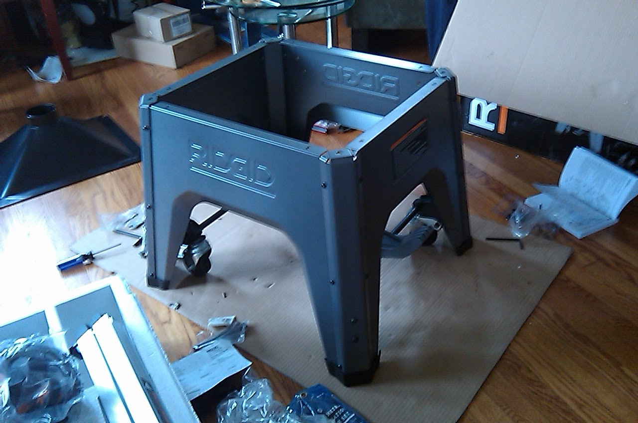 Table saw stand assembly instructions king