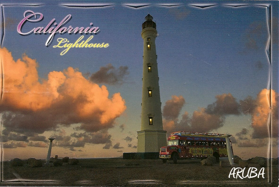 Kalife S Stamp Collection Cover And Lighthouse Postcard