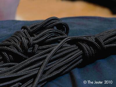 Die Seile blieben nicht lange aufgewickelt