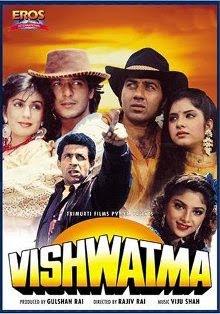 Vishwatma (1992) - Naseeruddin Shah, Sunny Deol, Chunky Pandey.