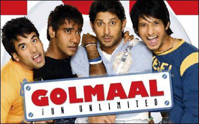 Golmaal Returns 2008 Hindi Movie Watch Online