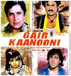 Gair Kaanooni 1989 Hindi Movie Watch Online