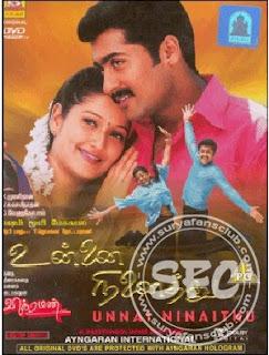 Unnai Ninaithu 2002 Tamil Movie Watch Online