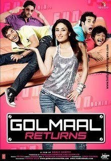 Golmaal Returns 2008 Hindi Movie Watch Online