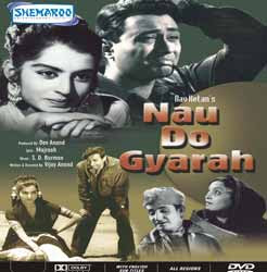 Nau Do Gyarah 1957 Hindi Movie Watch Online