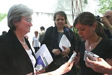 A Capodarco di Roma: il mio libro a Rosy Bindi