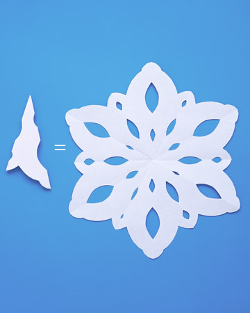 Christmas Craft How To Make Paper Snowflakes Interior Decorating