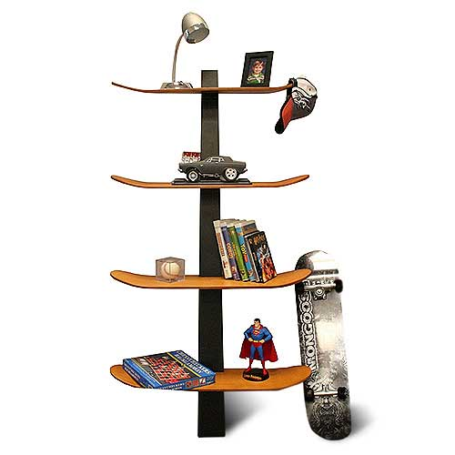 Home Accents Reusing Skateboards For Interesting Furniture