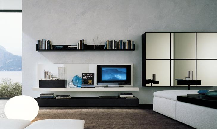 TV Panel design / LCD mounts and stands | Luxury Home Design