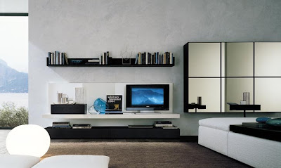 These Designs Are Modern And Elegant And Great Way To Design Your Living  Room Centered Around The TV. In These Designs It Is Presented As A Piece Of  Art And ...