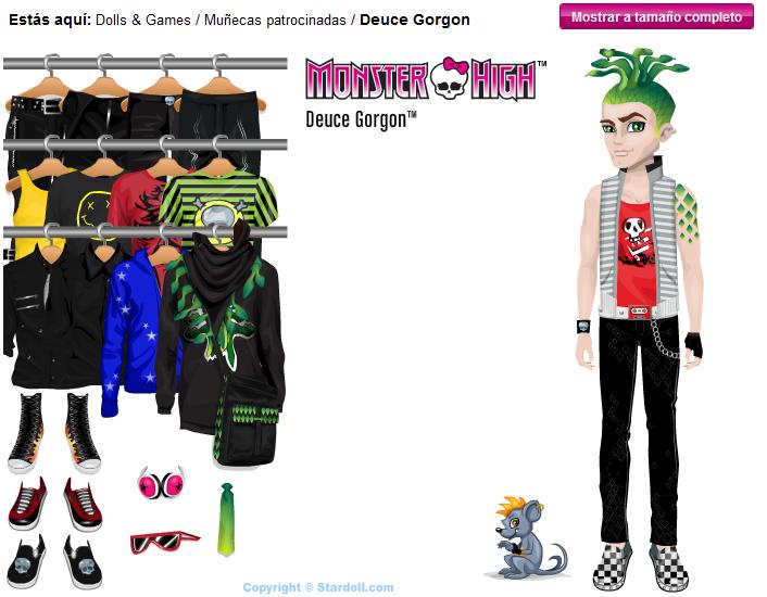 Anarchy on stardoll monster high dolls - Monster high deuce gorgon ...