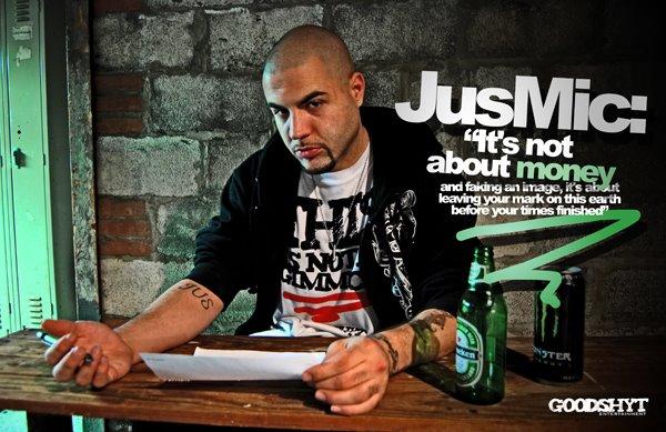 JUS MIC: Cleveland Underground Hip-Hop Artist/Singer & Songwriter