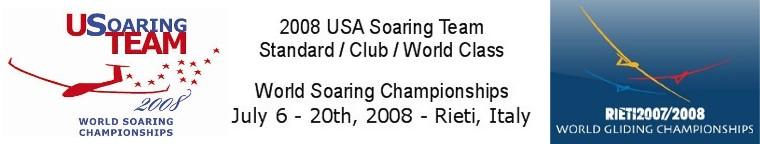 USA Soaring Team - Rieti, Italy 2008