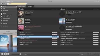 aperçu Spotify