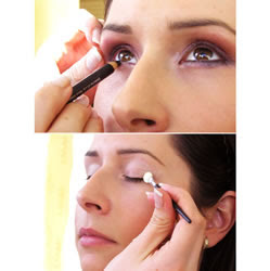 Fazer maquiagem basica
