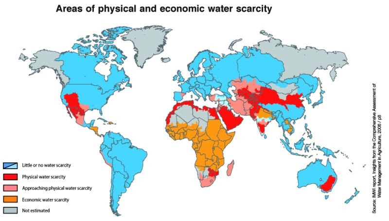 Total Drinking Water On Earth