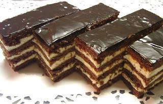 Csokis mézes krémes